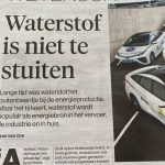 Eindelijk gaat waterstof terrein winnen.👍😁😁😁